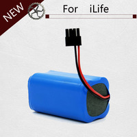 High quality Rechargeable ILIFE ecovacs Battery 14.8V 2800mAh robotic vacuum cleaner accessories parts for Chuwi ilife