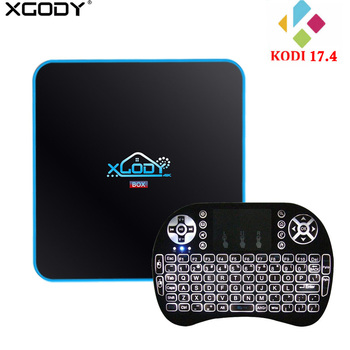 XGODY 3GB 32GB TV Box Android 7.1 Amlogic S912 Octa Core WiFi Bluetooth 4K Kodi 17.4 Streaming box TV Receiver Best Media Player