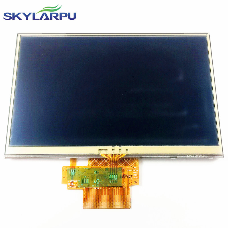 skylarpu 5 inch LCD screen For TomTom VIA 180 GPS display screen with touch screen digitizer panel skylarpu 5 inch for tomtom tom tom via 115 125 gps lcd display screen with touch screen digitizer panel free shipping