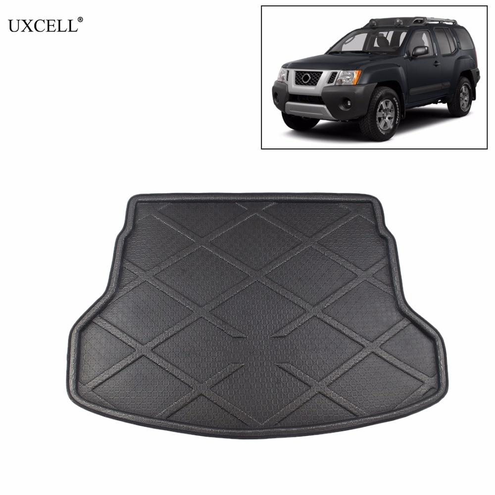 Uxcell Black SUV Van Rubber Trunk Cargo Floor Mat Auto Liner for 05-13 Nissan XterraUxcell Black SUV Van Rubber Trunk Cargo Floor Mat Auto Liner for 05-13 Nissan Xterra