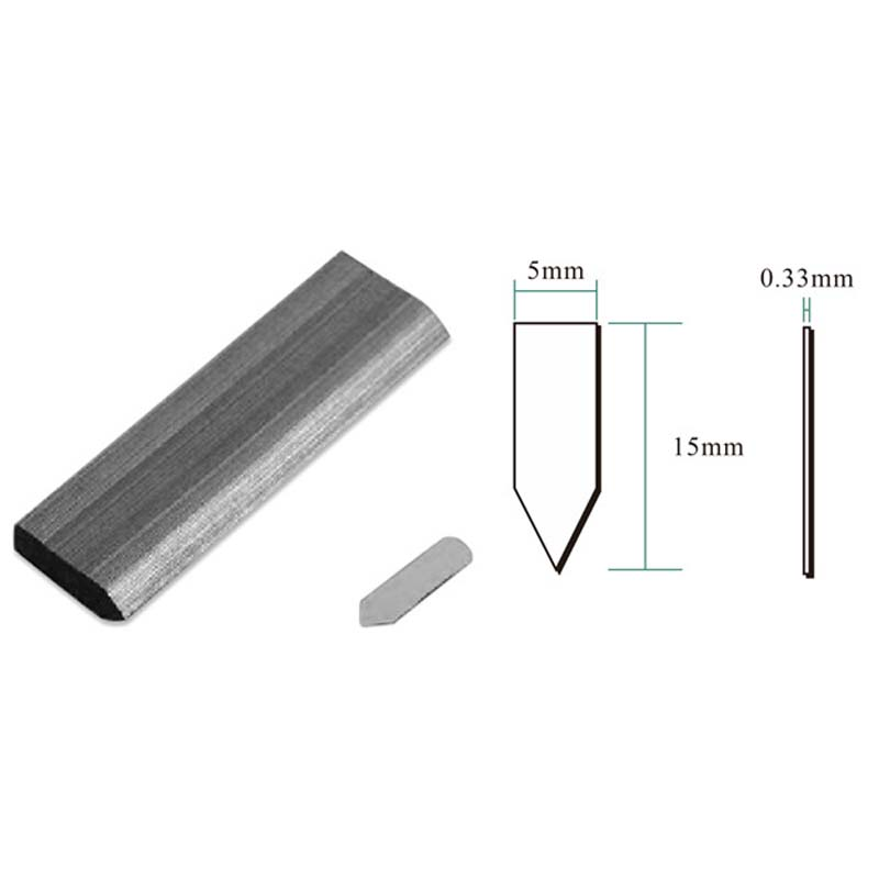 HM515 Manual Stapler Frame Back Plate Fixed Studs, Triangular Melon Seeds Nail 10,000 Pieces