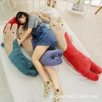 Huge plush pillow rabbit doll plush toy with sleep boyfriend pillow girl bedroom decoration birthday gift