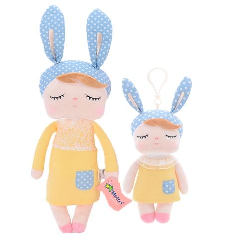 Metoo 2pcs Angela Rabbit Dolls Girl Baby Gift Plush Stuffed Gift Toys for Kids Children kawaii Brand New Karachi