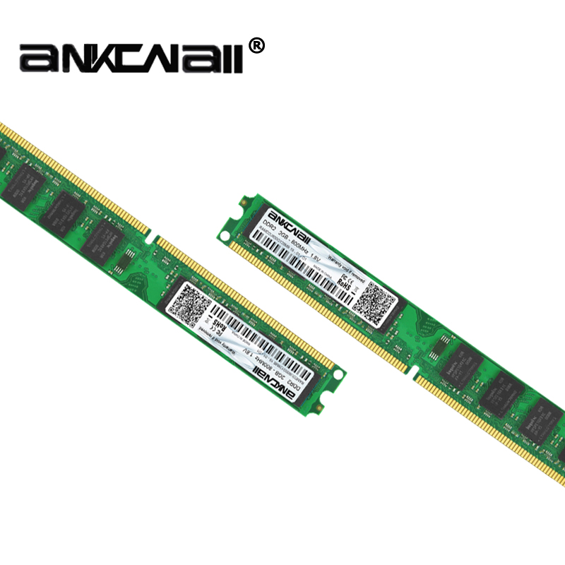 2GB/4GB DDR2 Desktop RAM with 667MHz/800MHz Memory Speed 2