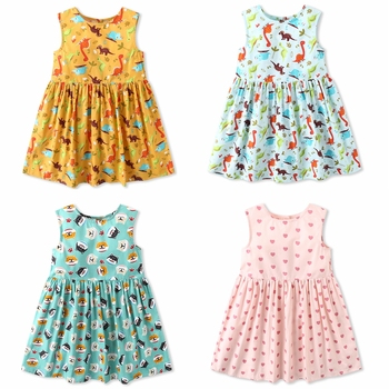 Dream Cradle 2019 Hot Summer ? Choose This ! Cheap , But Good Quality ! Baby Girls Dinosaur Dress, Toddler Dinosaur Dress 1
