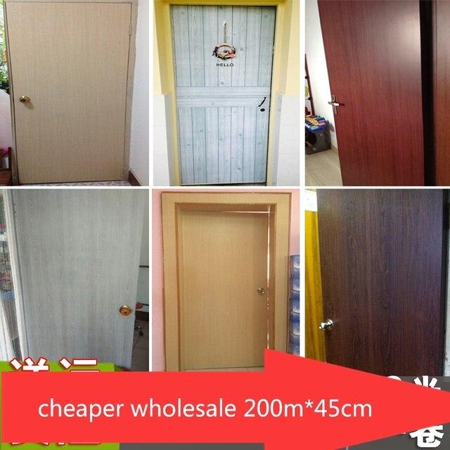 Pvc Auto Adhsif Papier Peint Armoire Table Cabinet Porte Placard