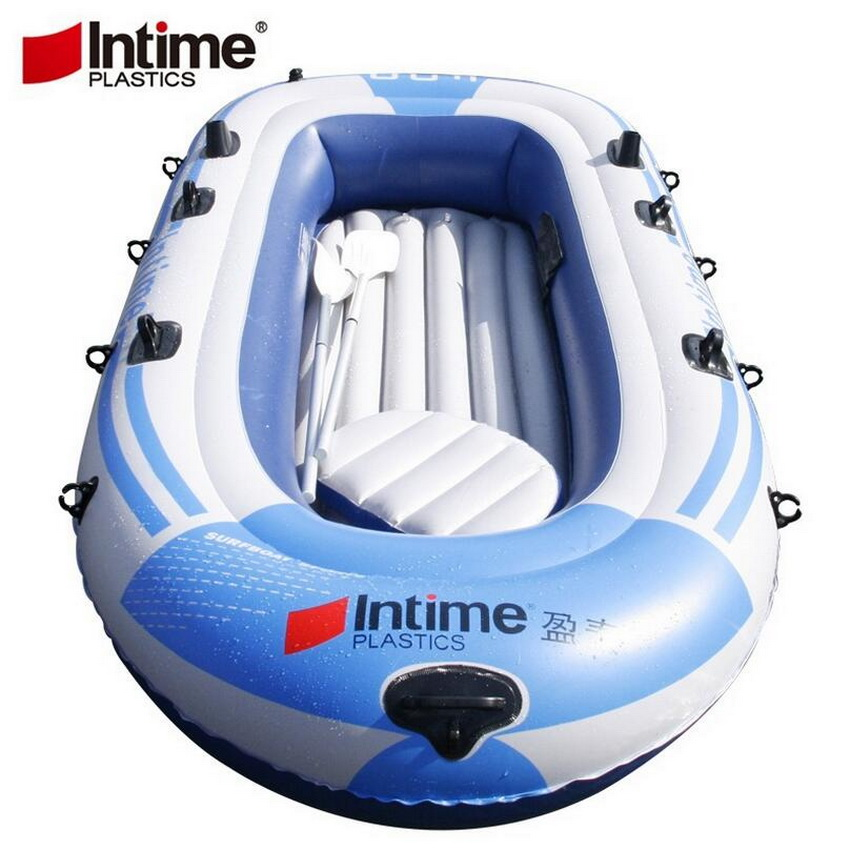 Sports nautiques en plein air deux gonflable kayak, radeau bateau double 2 bateau à la dérive, gonflable bateau de pêche, épaississement sécurité