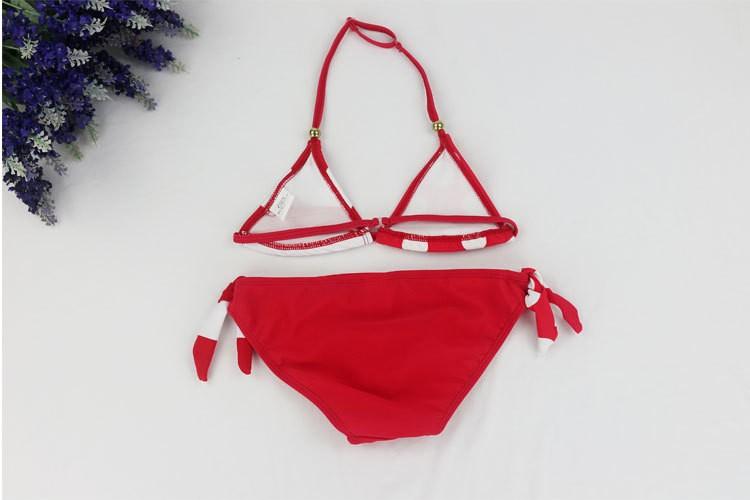 2018 New Children Swimwear Baby Kids Cute Bikini Girls split Two Pieces swimsuit Bathing suit Beachwear kids biquini infantil 22