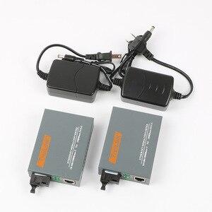Image 1 - One pair HTB GS 03 20km RJ45 SC gigabit netLINK 1000M Single mode Single fiber WDM Fiber Media Converter