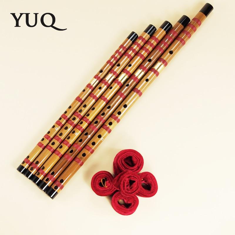 YUQUE Bamboefluit beginner Houtblazers dizi Muziekinstrumenten C D E - Muziekinstrumenten - Foto 3