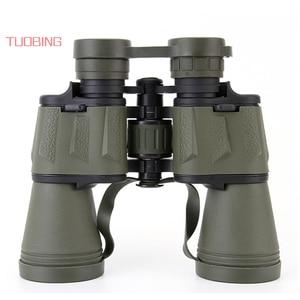Image 2 - Telescopio de caza con zoom de largo alcance, prismáticos profesionales de gran angular de alta definición, 20x50 Gran Aumento