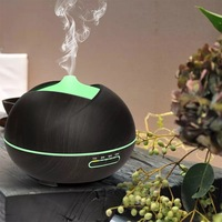 400ML Air Humidifier Ultrasonic Aromatherapy Diffuser With 7 Color LED Lights For Home Aroma Essential Oil