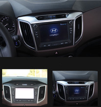 Keao For ix25 Hyundai Creta 2015 18 Center Console Panel decoration cover ABS interior mouldings car