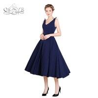 navy-blue-tea-length-satin-formal-evening-dresses-2017-vestidos-v-neck-open-back-prom-dress-special-occasion-party-gowns