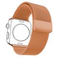Watchbands For Applewatch Series 2&1 Men/Women Milanese Rose Gold Plated Stainless Steel Strap & Watch Protective Case APB1757M