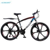 ALTRUISM Q1 Steel 24 Speed 26 Inch Road Bike Double Disc Brake One Wheel Male S