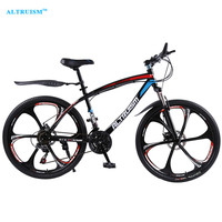 ALTRUISM Q1 Steel 24 Speed 26 Inch Road Bike Double Disc Brake One Wheel Male S