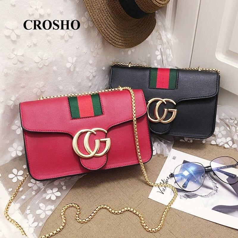 a050ac0638da CROSHO цепи мешок одного плеча сумка CG нить Курьерские сумки - b ...