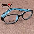 High Quality Kids Frames Eyewear Silicone Children Full Glasses Frame Boys Optical Myopia Glasse Girl Lightweight Eyewear EV0279