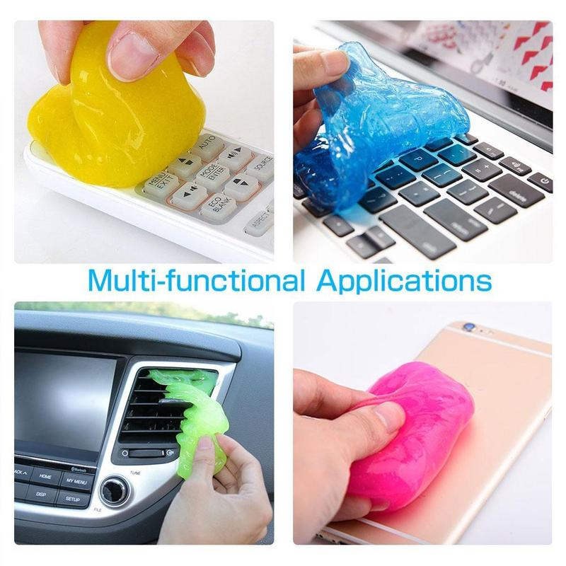 Soft Sticky Magic Dust Cleaning Slimy Gel Clean Mud For DSLR Camera Keyboard  Cleaner