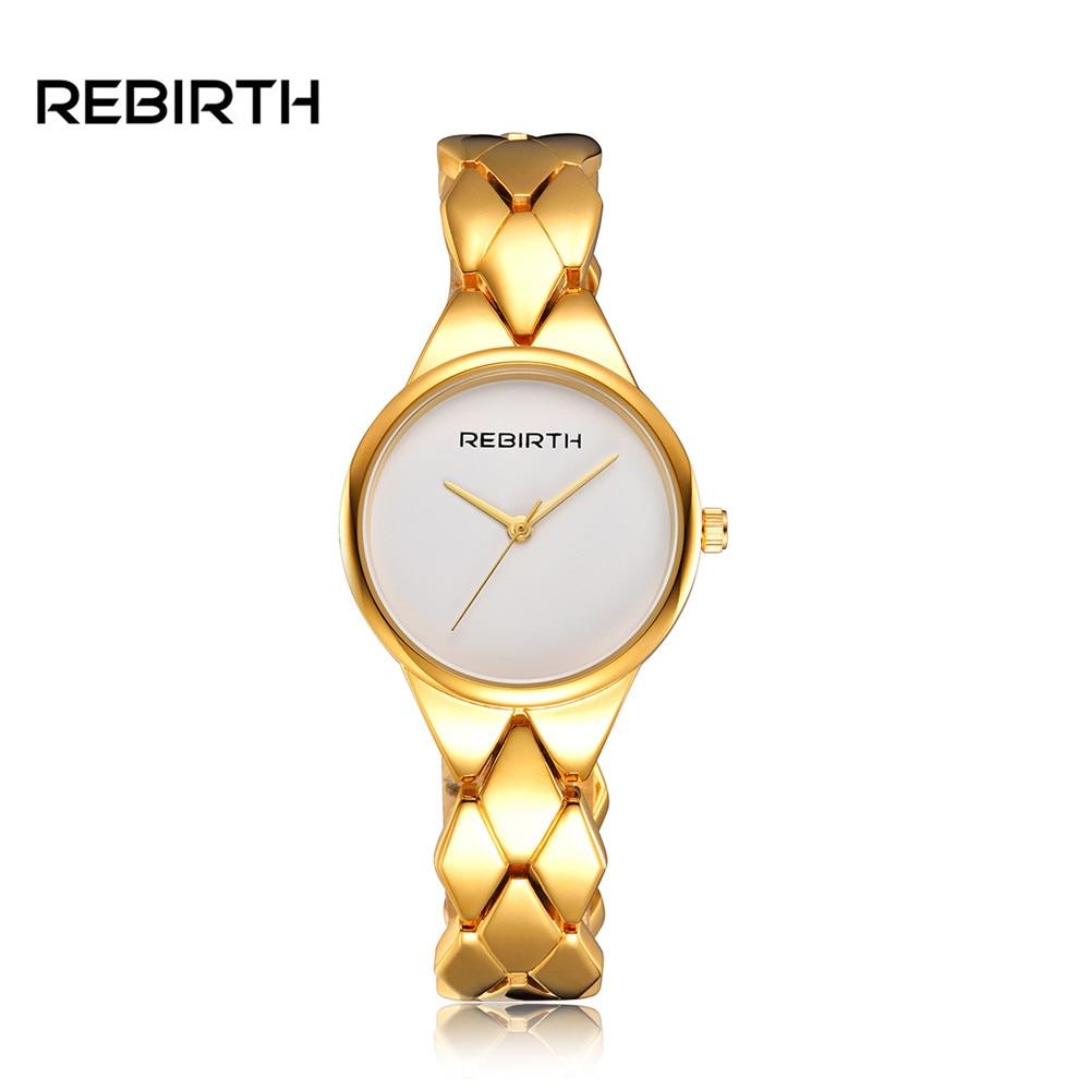 2017 Luxury Brand Quartz-Watch Fashion Damklockor Kvinnor Rostfritt Stål Armbandsur Kvinnlig Business Relogio Feminino