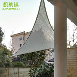5x5x5 M/szt. 95% stopień zaciemnienia HDPE netto słońce żagiel przeciwsłoneczny w łuku krawędzi projekt dla Patio ogrodowe markizy