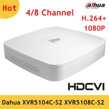 Original Dahua XVR 4 Channel 8 Channel 1080P Digital Video Recorder Dahua HCVR for HDCVI camera system XVR5104C-S2 XVR5108C-S2