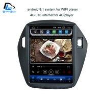 32G rom android 8,1 навигационная система вертикального типа радио bluetooth стерео плеер для hyundai ix35 автомобильный мультимедийный плеер