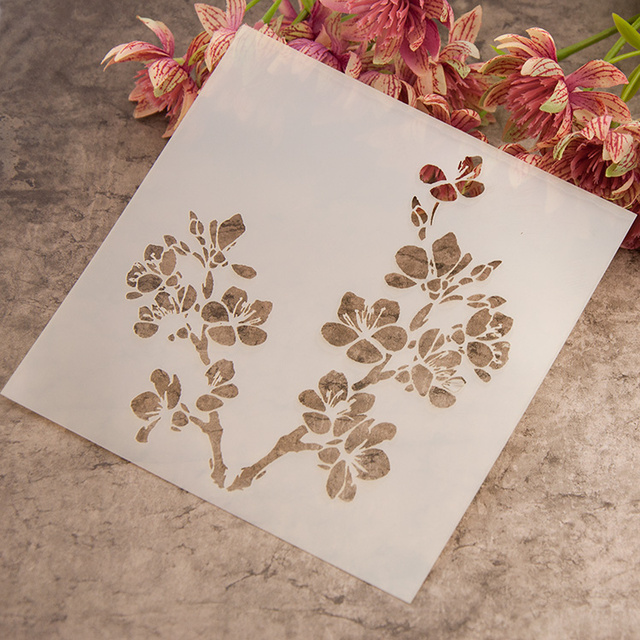 Diy scrapbooking pigment on fabric wall or art painting ...