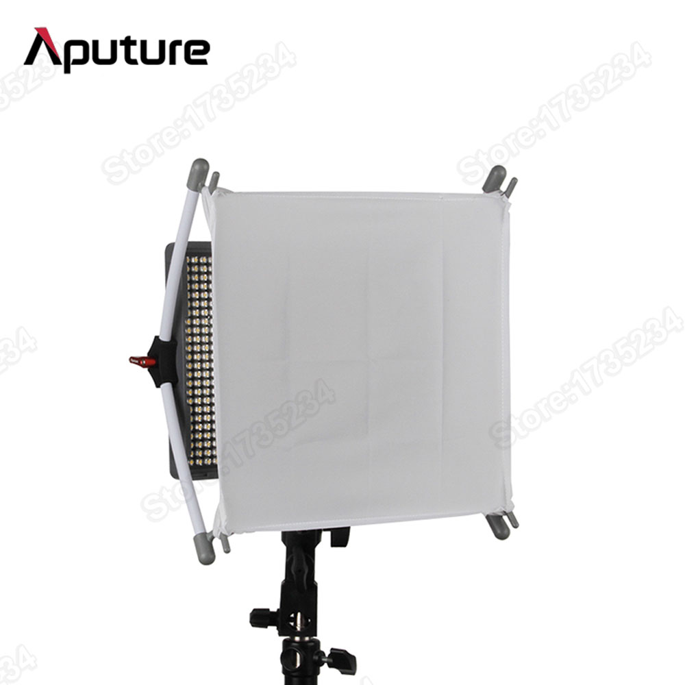 New Aputure Diffuser Softbox Portable Lightweight Easy Box Perfectly Fit For Amaran HR672 AL528 LED Light