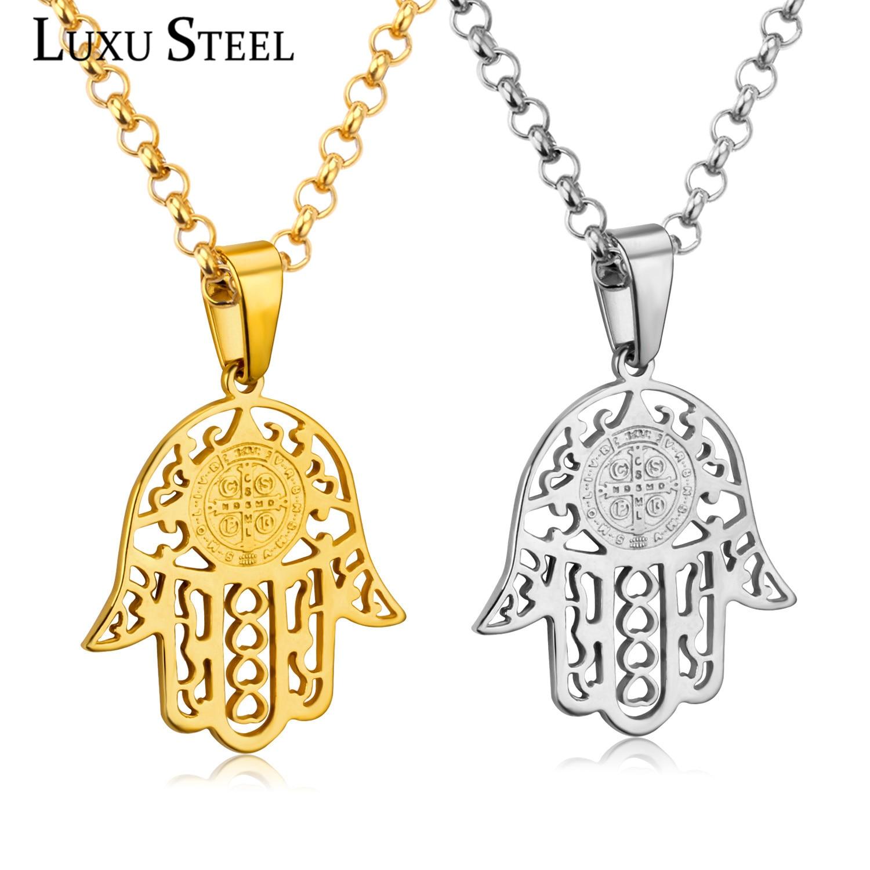 line Get Cheap Hamsa Necklace Gold Men Aliexpress