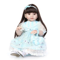 2016NEW hotsale lifelike reborn toddler doll wholesale baby dolls fashion doll Christmas gift real touch doll