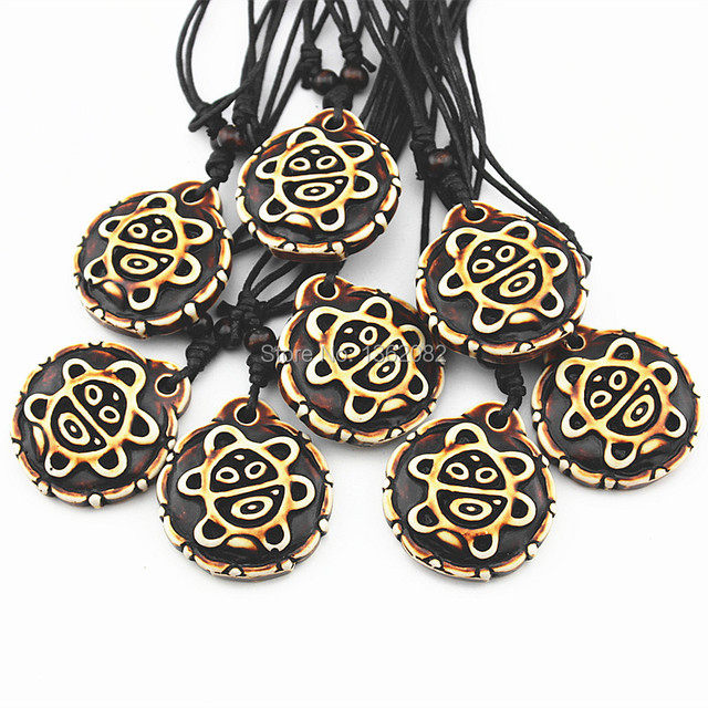 10pcs Men Womens Jewelry Native American Taino Sun Symbol Pendant