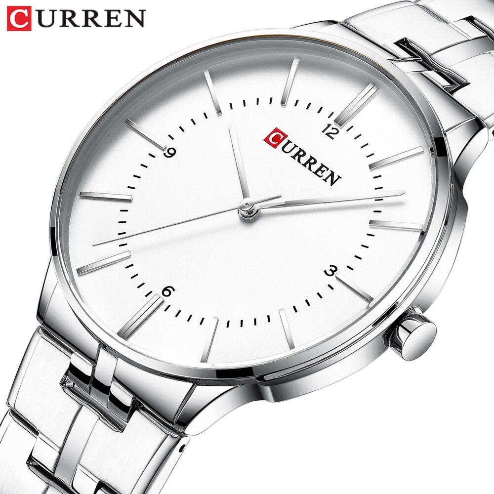 CURREN Mens Classic Watch Luxury Business Men Wristwatch Quartz Analog Male Fashion Sports Brand Watches Clock Relogio Masculino
