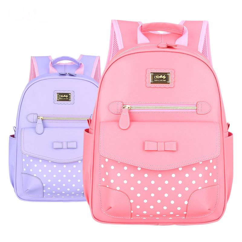 Fashion Grade1 6 Orthopedic Breathable Children Primary School Bags For Teenagers Girls Mochila Schoolbags font b