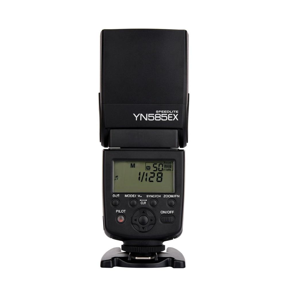 Nova listagem YN585EX P-TTL Yongnuo Sem Fio Flash Speedlite para Pentax K3II K5 K50 KS2 K100 Câmera