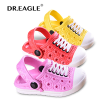 Kids Shoes Boys Child Mules Clogs Waterproof Summer Beach Golden Casual soft Fashion Slippers Girl Sandals Children Clogs