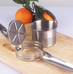 Image 2 - Paslanmaz çelik sıkacağı üzüm, karpuz sıkmak suyu, nar suyu bebek garnitür meyve suyu pres makinesi