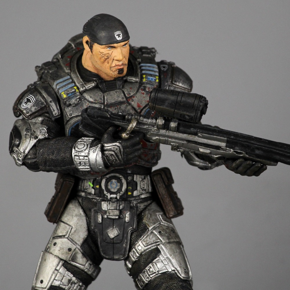 gears of war 2 NECA genuine new original 7-inch doll model Marcus - the protagonist (Bulk) rollercoasters the war of the worlds