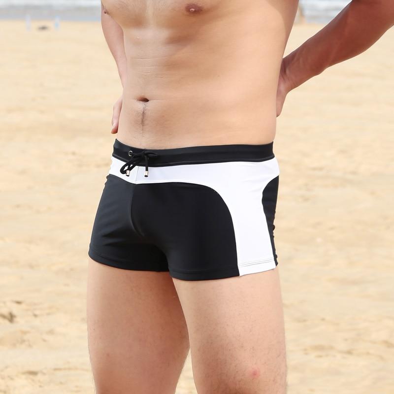 Men's Shorts Underpants Swimwear Push-Up Man Swimsuit  low waist sexy Swim sport beach Male Bikini Swimming Trunks For Men