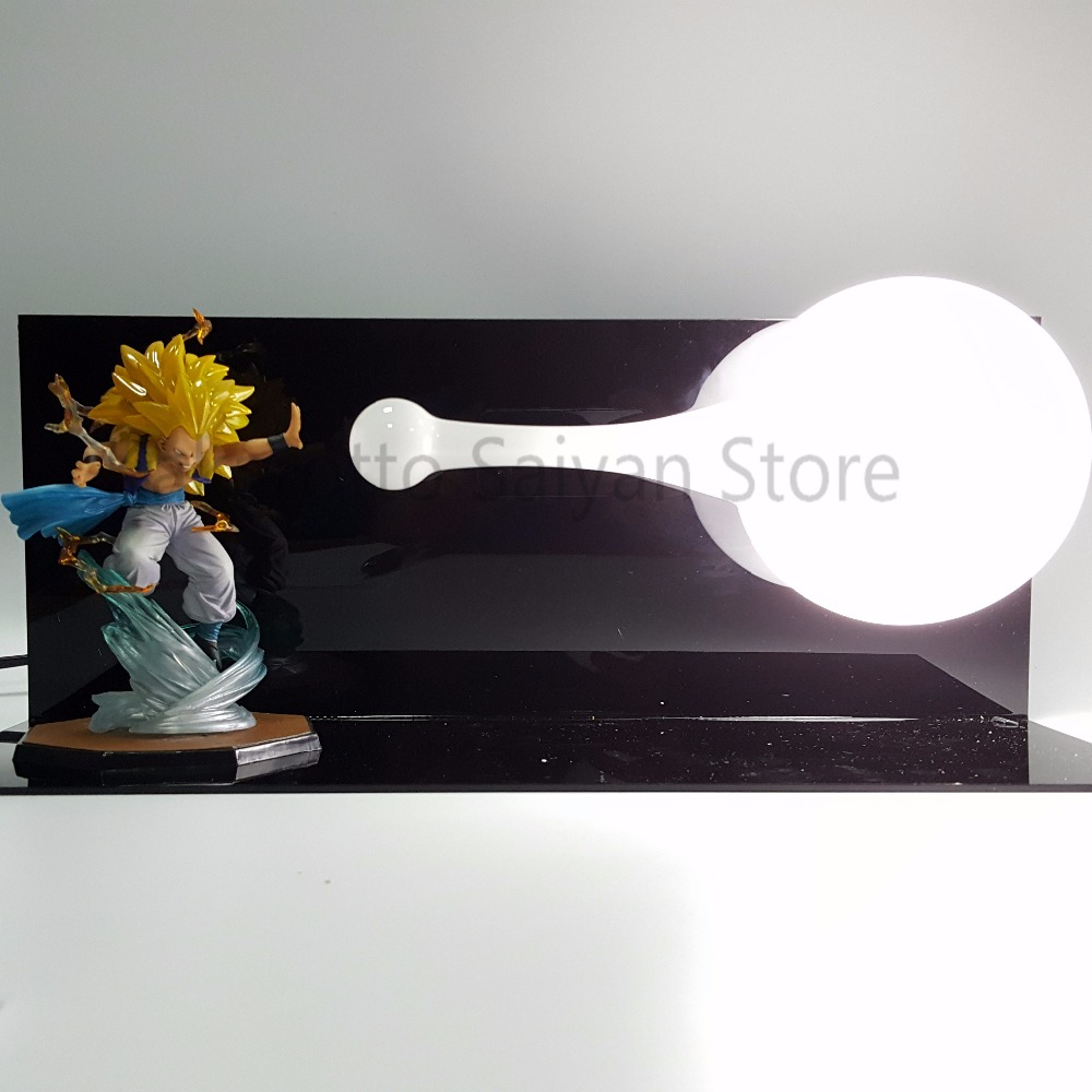 Dragon Ball Z Action Figures Gotenks PVC Toys Anime Dragon Ball GT Figures DBZ Collectible Model Toy +Bulb+Base patrulla canina with shield brinquedos 6pcs set 6cm patrulha canina patrol puppy dog pvc action figures juguetes kids hot toys