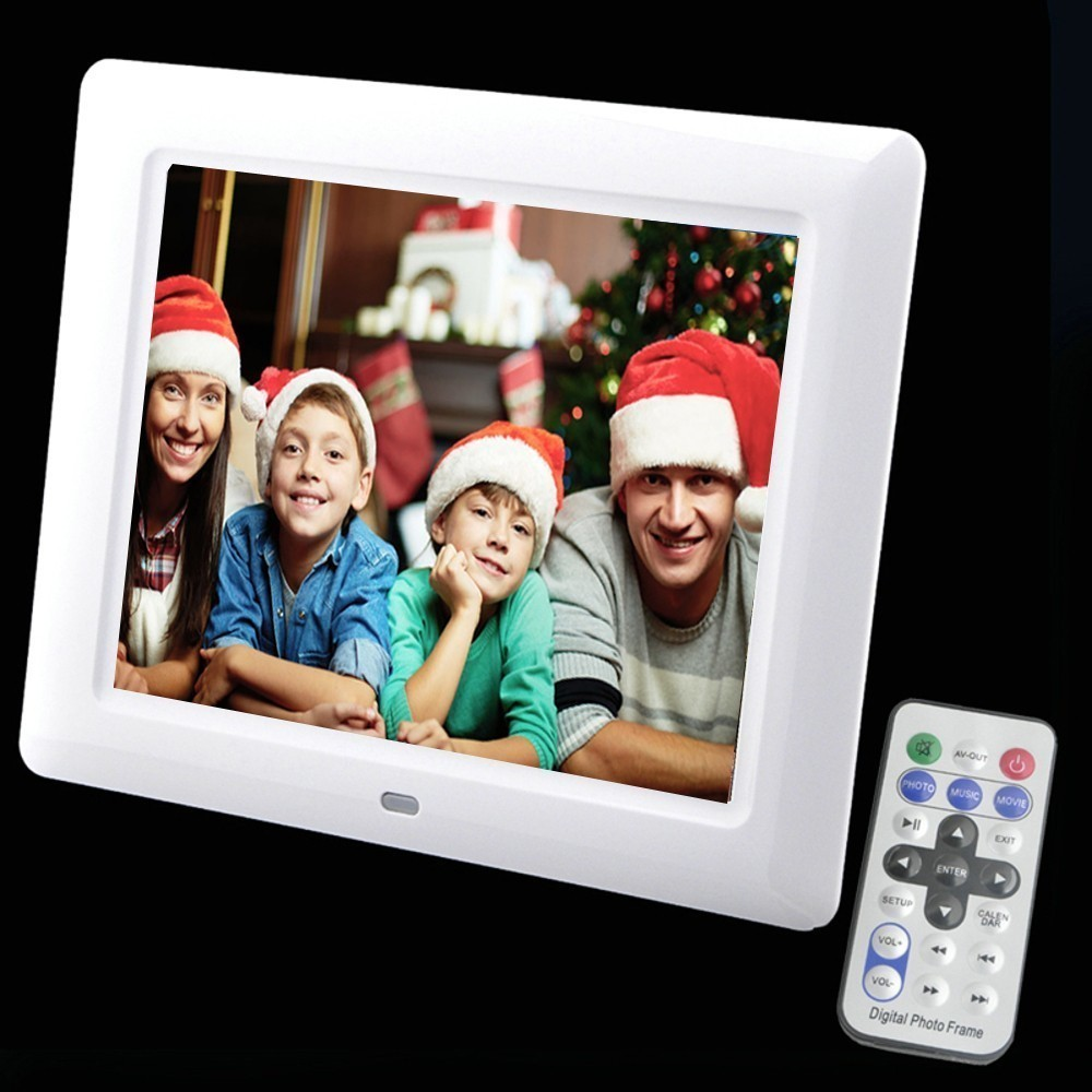 8 inch LCD Screen LED Backlight HD 800 600 Screen Digital Photo Frame Electronic Album Picture