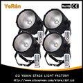 (4 шт./лот) COB Номинальной света LED Мыть Свет RGBW 80 Вт DMX 8 Каналы Инфракрасный Пульт Дистанционного Управления
