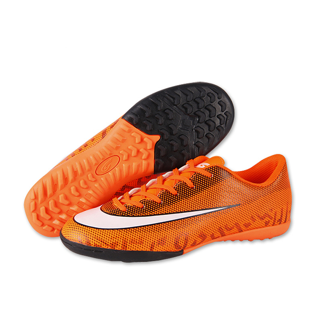 dd3108c55 Professional Men Turf Indoor Soccer Shoes Cleats Kids Original Superfly  Futsal Football Boots Sneakers chaussure de foot