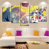 2017 Горячие стены украшения Unframed роспись стены Книги по искусству холсте маслом Гостиная картина современного дома изображение