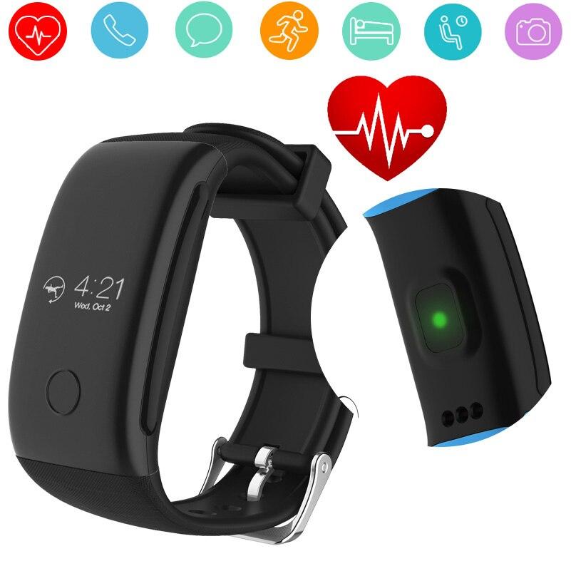 Gzdl <font><b>Bluetooth</b></font> <font><b>Smart</b></font> часы сна монитор сердечного ритма шагомер здоровья фитнес-трекер активности браслет спортивный браслет WT8100