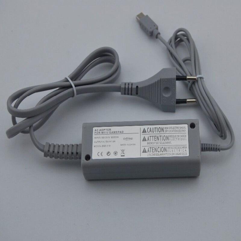 US EU Plug 100 240V Home Wall Power Supply AC Charger Adapter for Nintendo WiiU Wii