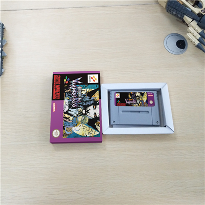 Castlevania Vampire's Kiss With Retail Box Action Game EUR Version