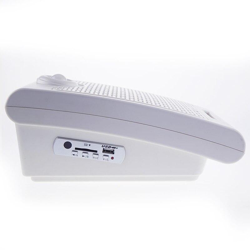 WT01 Scream altavoz PIR infrarrojos sensor de movimiento tarjeta SD reproductor de audio para casa embrujada efecto de sonido especial 10 W - 4