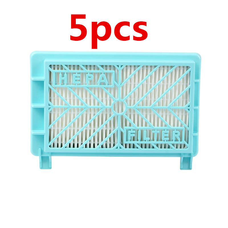 5pcs Vacuum Cleaner Hepa Filter Hepa 12 Replacement for Philips FC8613 FC8614 FC8716 FC8732 FC8720 FC8919 HR8374 HR8581 HR8582